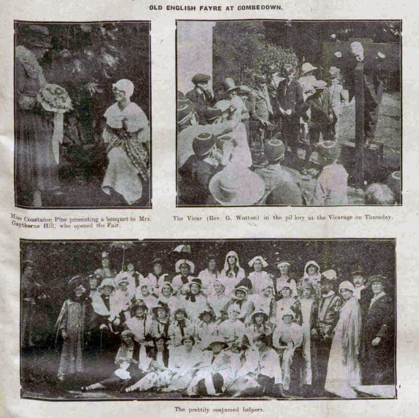 Old English fayre - Bath Chronicle and Weekly Gazette - Saturday 10 July 1926