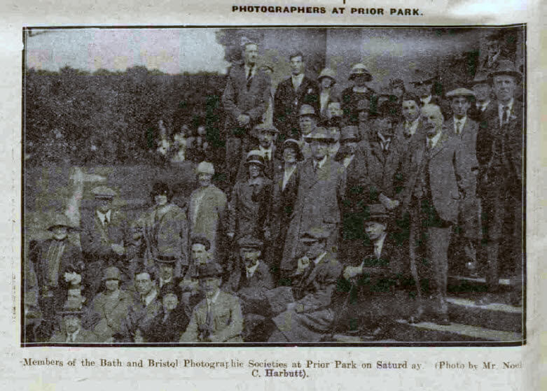 Photographers at Prior Park - Bath Chronicle and Weekly Gazette - Saturday 19 June 1926