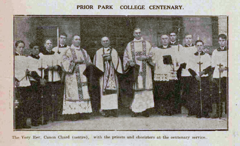 Prior Park college centenary - Bath Chronicle and Weekly Gazette - Saturday 21 December 1929