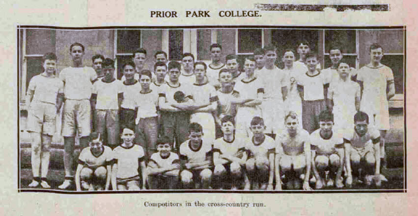 Prior Park college cross country - Bath Chronicle and Weekly Gazette - Saturday 4 April 1931