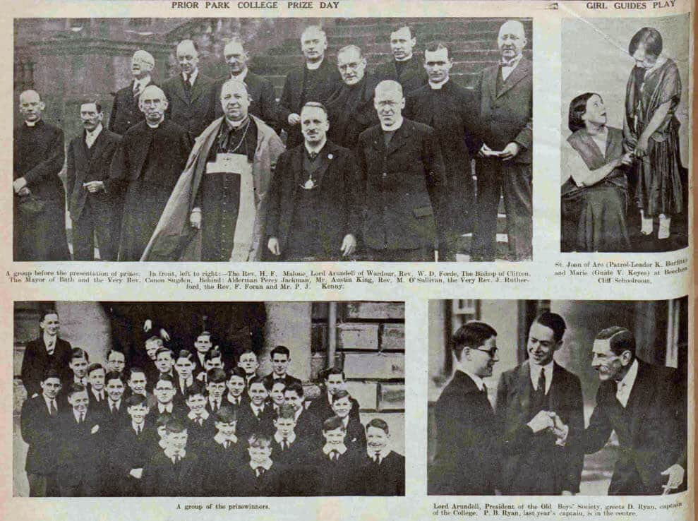 Prior Park college prize day - Bath Chronicle and Weekly Gazette - Saturday 26 March 1932