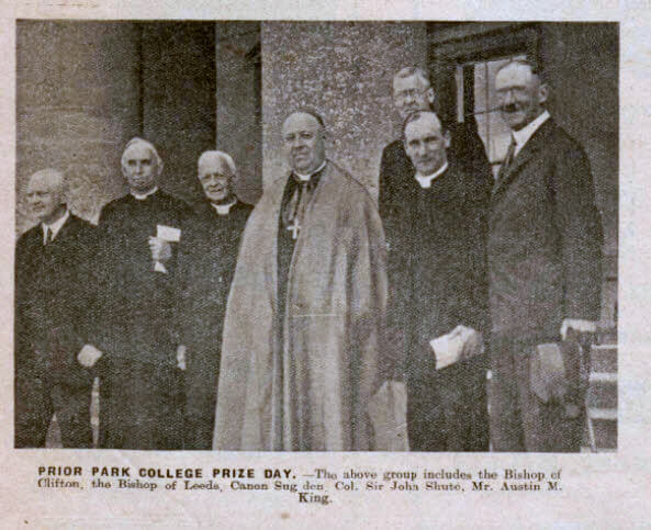 Prior Park college prize day - Bath Chronicle and Weekly Gazette - Saturday 6 July 1935