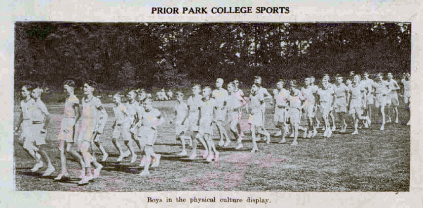 Prior Park college sports - Bath Chronicle and Weekly Gazette - Saturday 10 June 1933