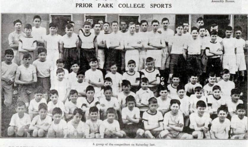 Prior Park College sports - Bath Chronicle and Weekly Gazette - Saturday 11 April 1925