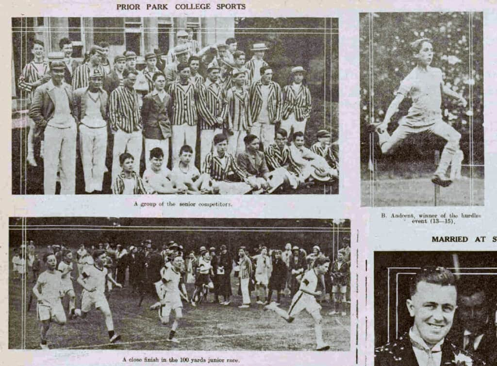 Prior Park college sports - Bath Chronicle and Weekly Gazette - Saturday 11 June 1932