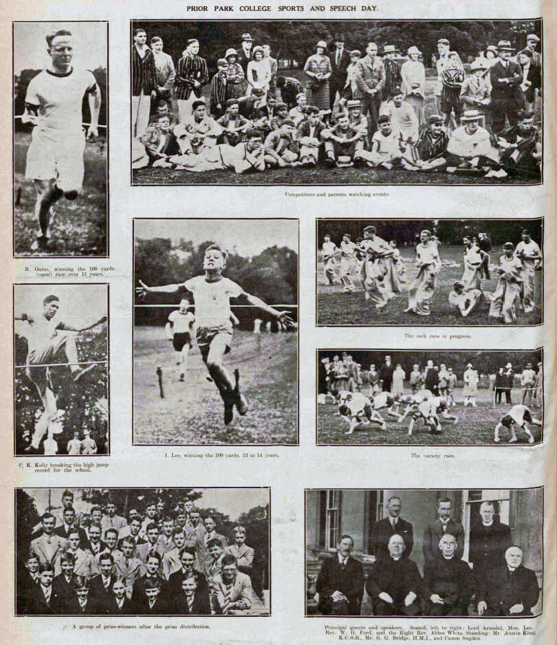 Prior Park College sports - Bath Chronicle and Weekly Gazette - Saturday 20 June 1931