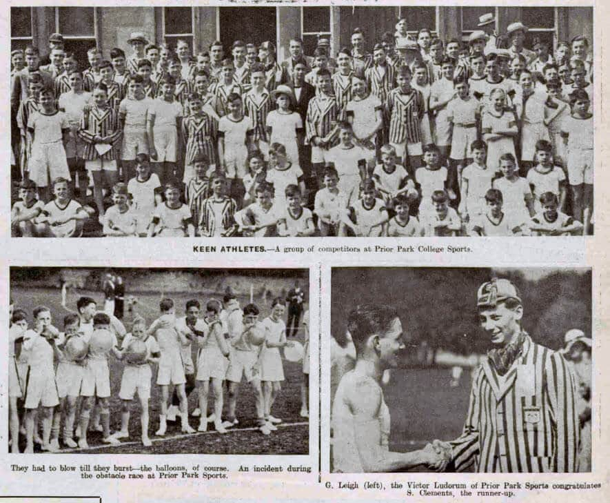 Prior Park college sports - Bath Chronicle and Weekly Gazette - Saturday 8 June 1935