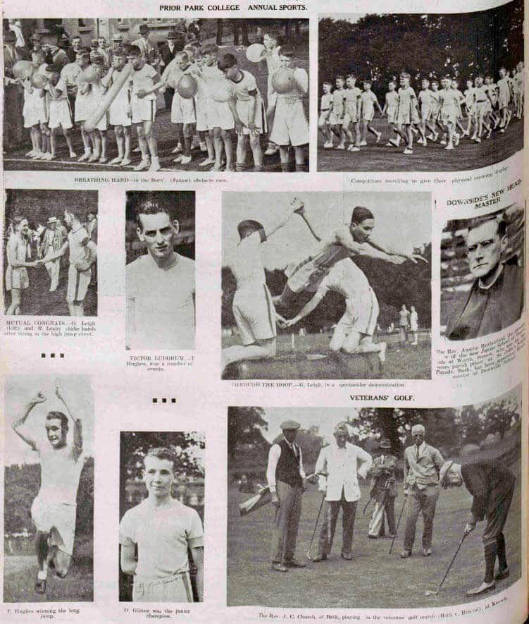 Prior Park college sports - Bath Chronicle and Weekly Gazette - Saturday 9 June 1945