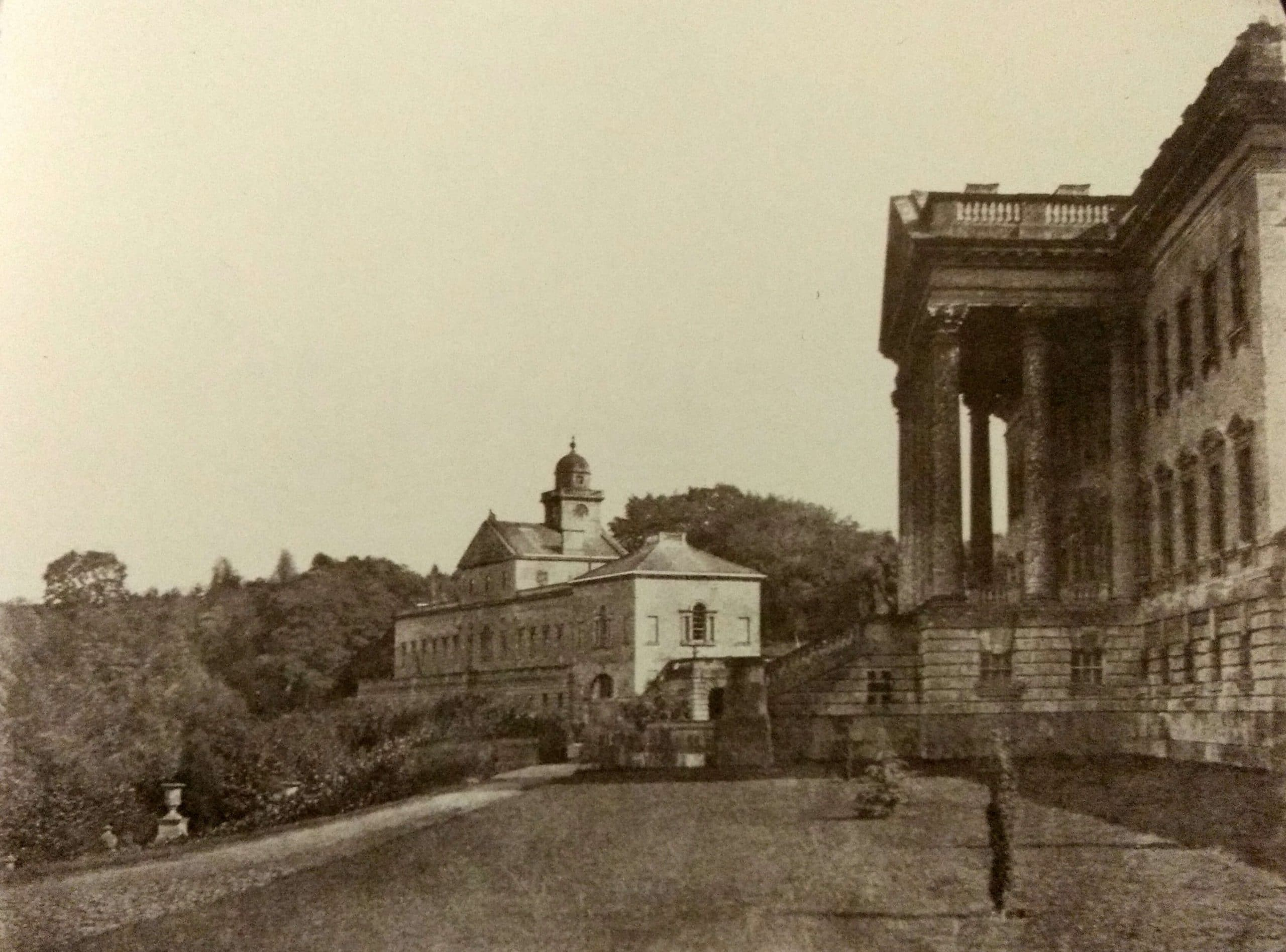 Prior Park mansion about 1855, Rev Francis Lockey (1796 - 1869)
