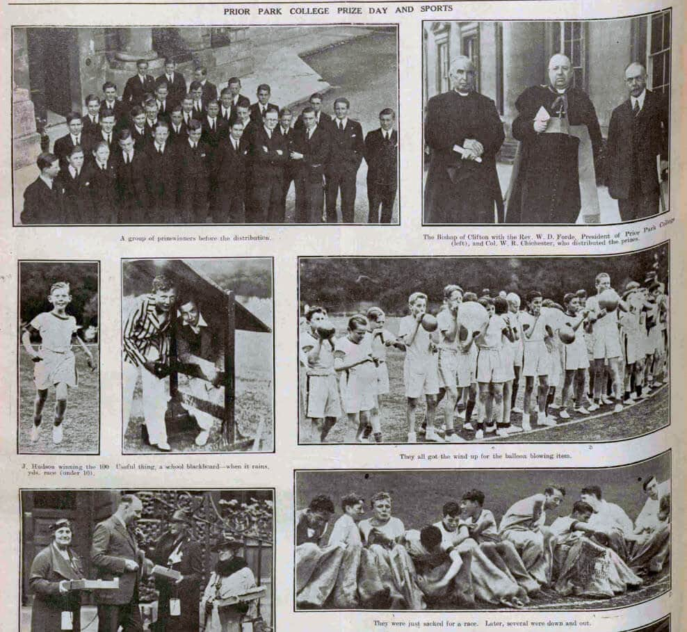 Prize day and sports at Prior Park - Bath Chronicle and Weekly Gazette - Saturday 13 June 1936