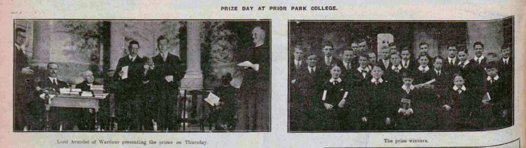 Prize day at Prior Park - Bath Chronicle and Weekly Gazette - Saturday 4 May 1929
