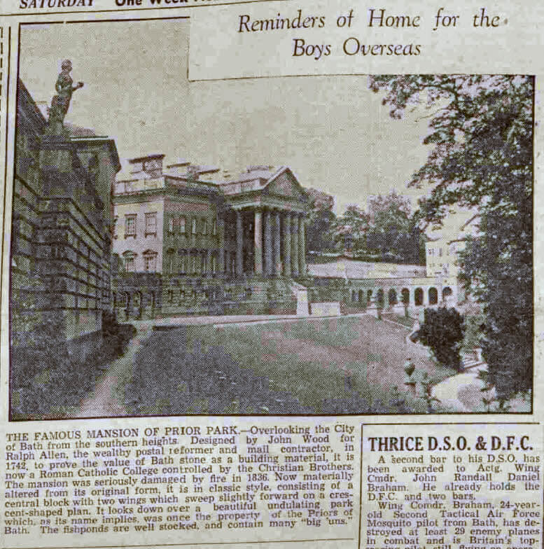 Reminder of home - Bath Chronicle and Weekly Gazette - Saturday 17 June 1944