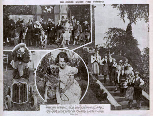 Summer garden fetes - Bath Chronicle and Weekly Gazette - Saturday 1 June 1935