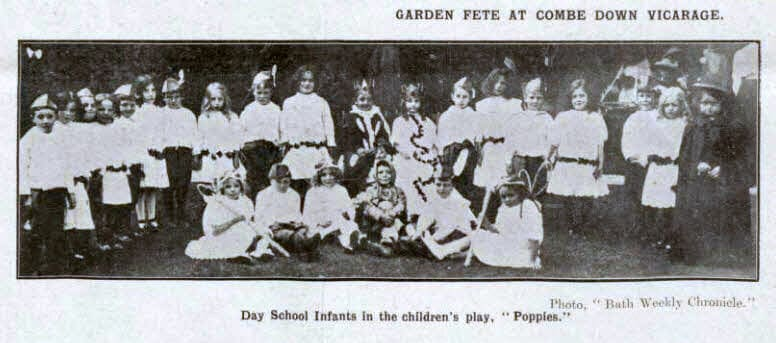 The garden fete at Combe Down vicarage - Bath Chronicle and Weekly Gazette - Saturday 18 July 1914