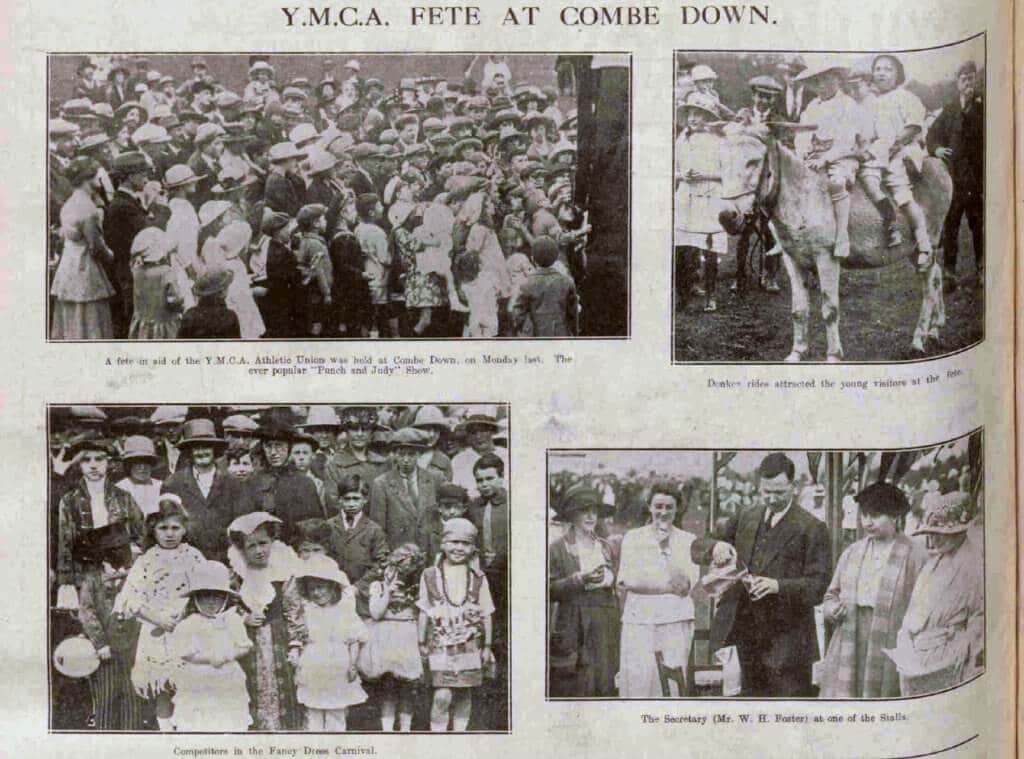 YMCA fete at Combe Down - Bath Chronicle and Weekly Gazette - Saturday 12 August 1922