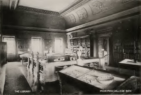 Prior Park academy hall about 1900