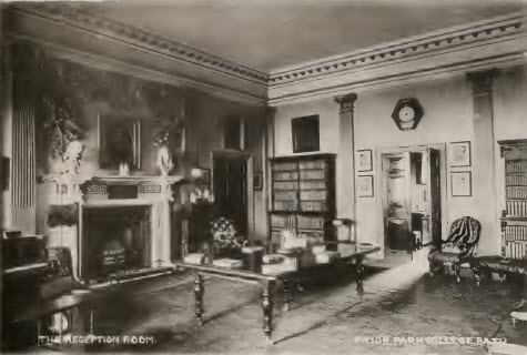 Prior Park reception room about 1900