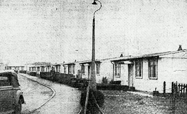 Foxhill post war prefabs