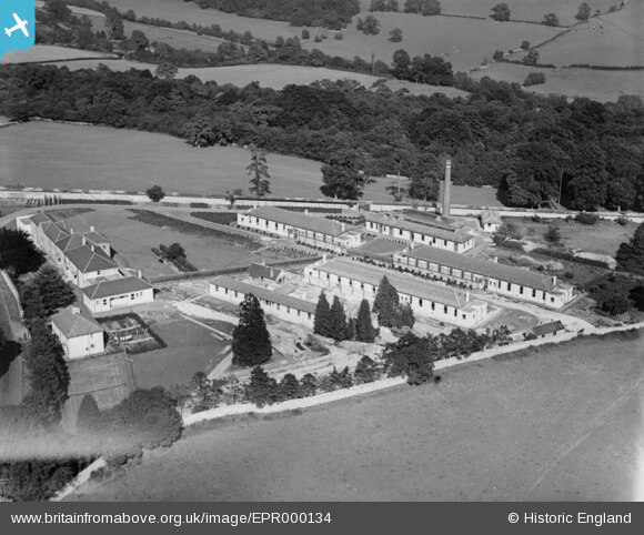 Bath Statutory Hospital (Claverton Down Isolation Hospital), Claverton Down, 1934