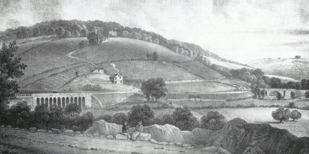 Brassknocker Hill about 1830