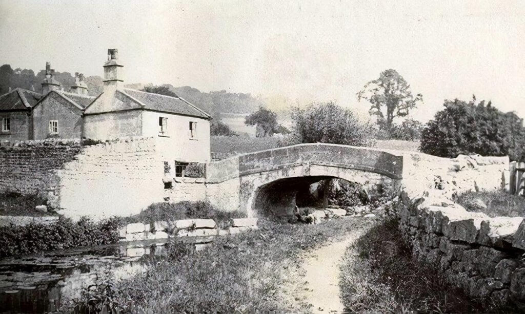 Canal Bridge, Monkton Combe, c 1900