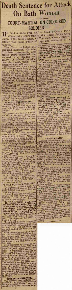Eisenhower acts - Bath Chronicle and Weekly Gazette - Saturday 17 June 1944
