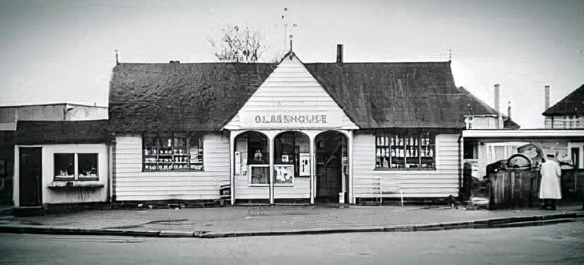 Glasshouse cafe