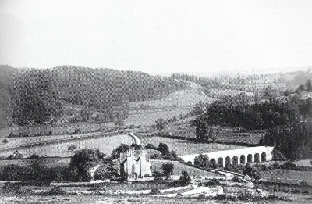 Looking down Brassknocker Hill about 1890