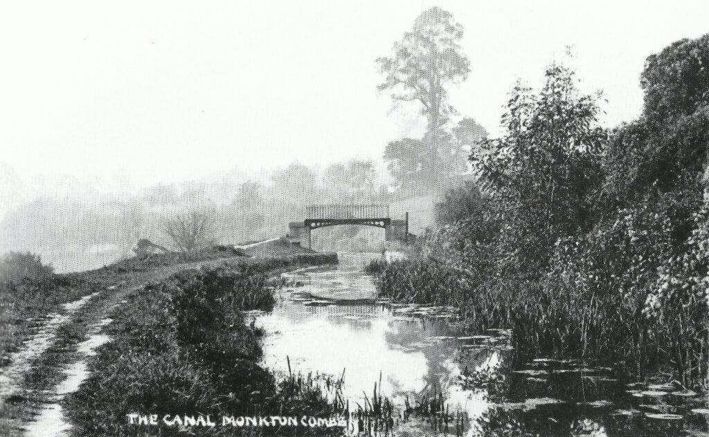 The canal, Monkton Combe about 1905