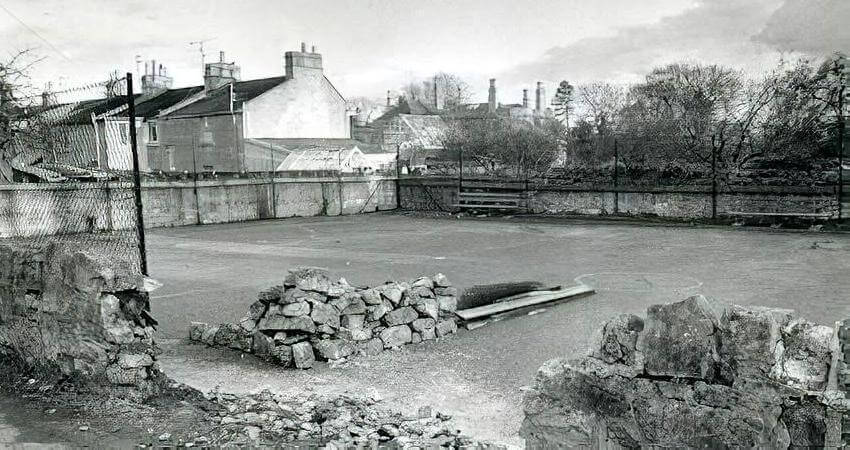 The Old Playground, Combe Down before redevelopment