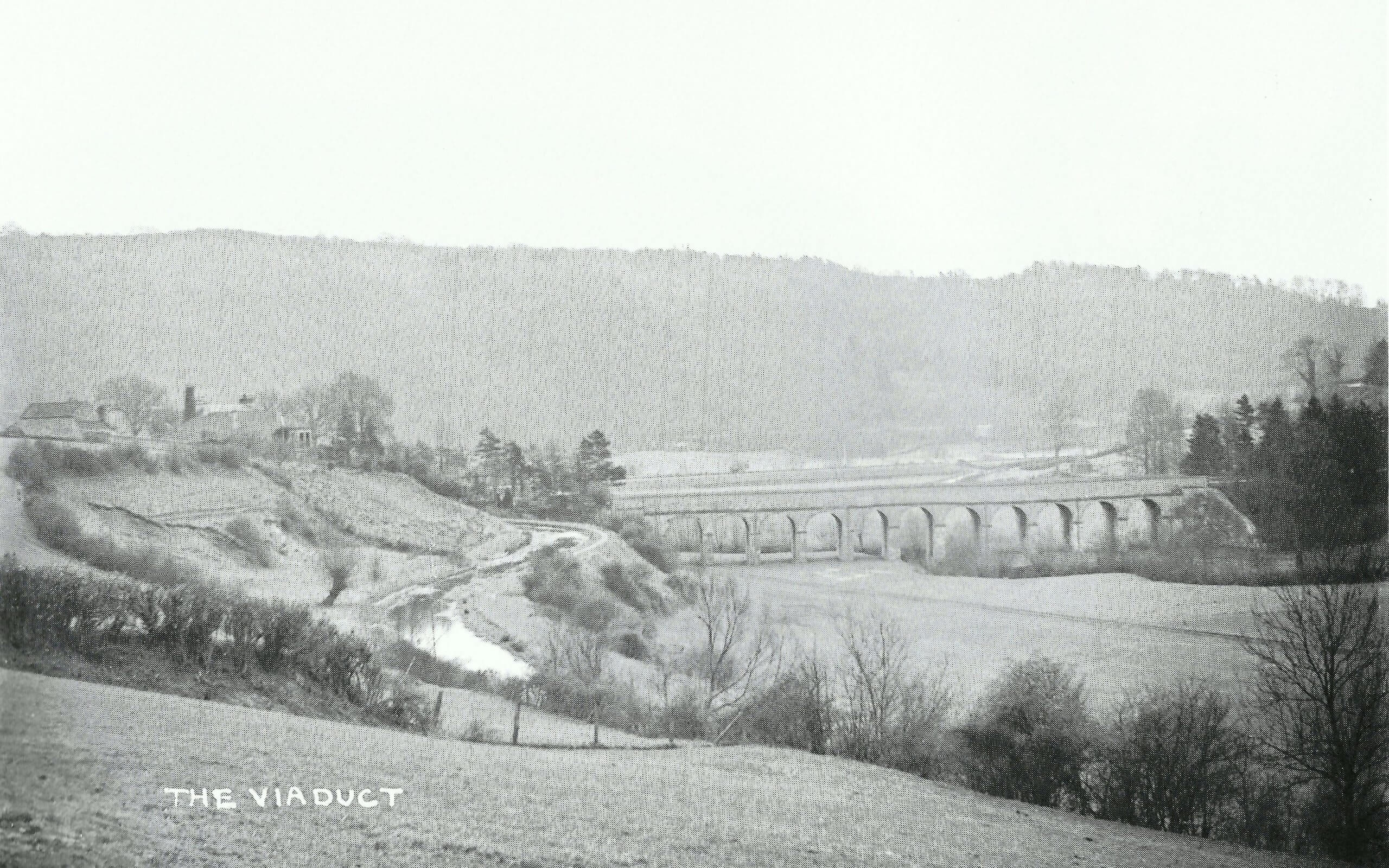 The Viaduct, Monkton Combe about 1904