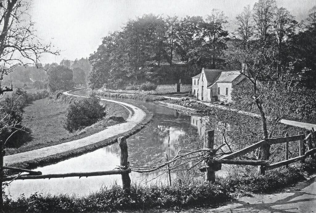Tucking Mill about 1880