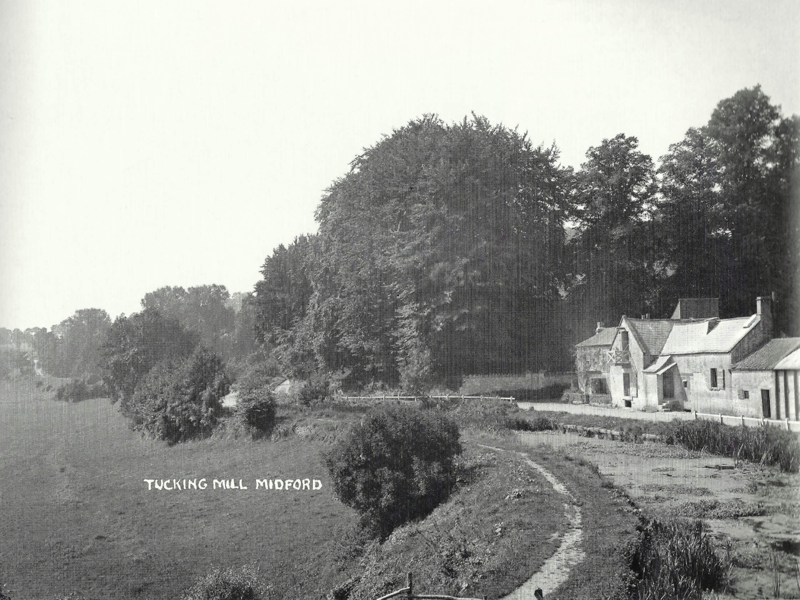 Tucking Mill about 1905