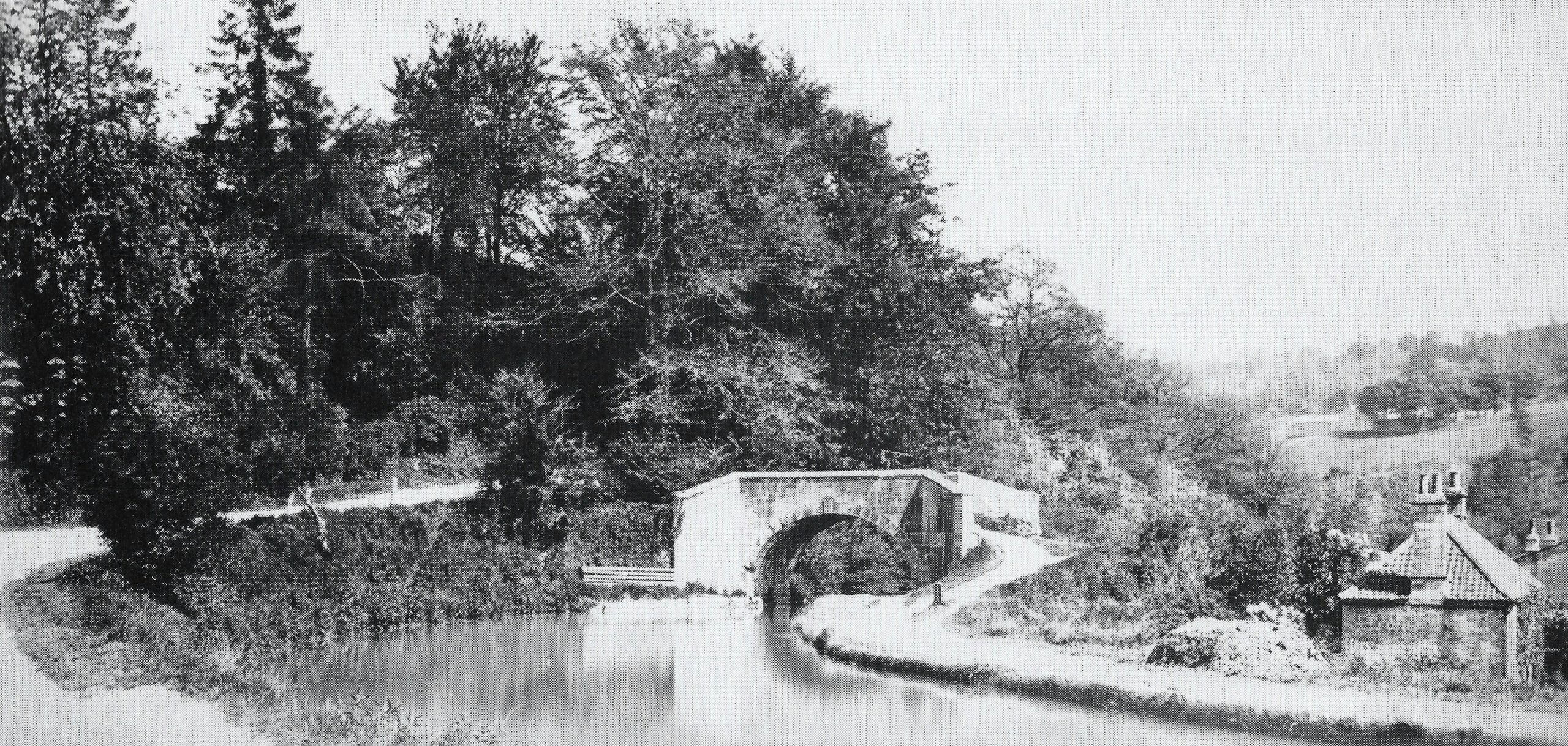 Tucking Mill bridge about 1880
