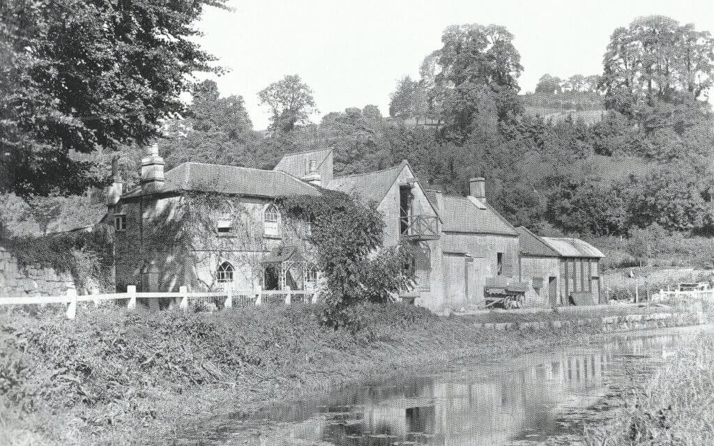 Tucking Mill Fullers earth works about 1905