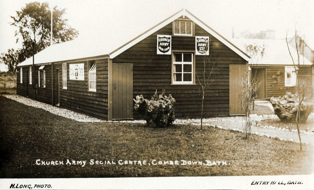 Church Army Social Centre, Combe Down, 1920
