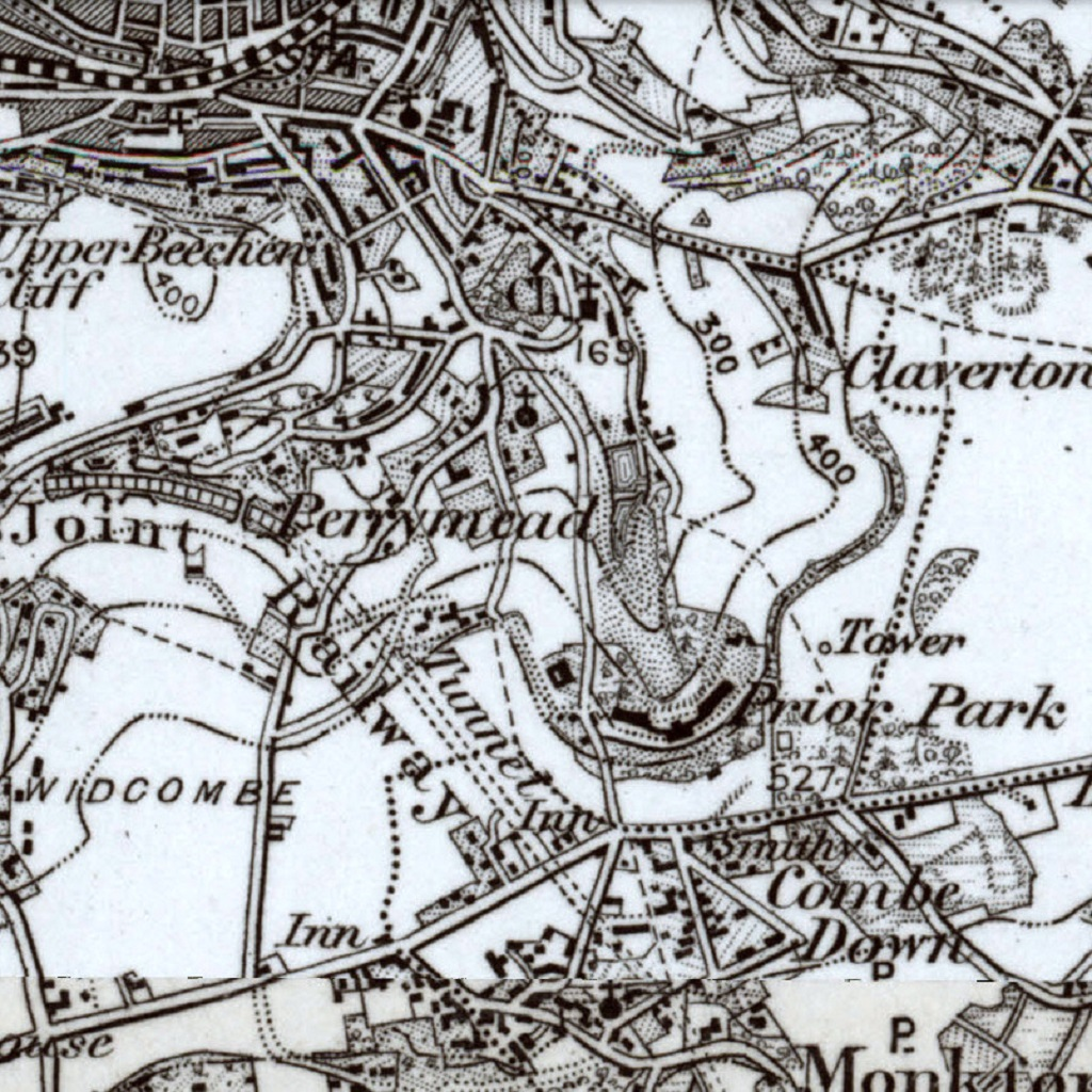 1898 map of Perrymead area